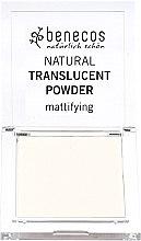 Parfémy, Parfumerie, kosmetika Průhledný matující pudr na običej - Benecos Natural Translucent Powder Mission Invisible