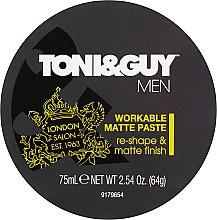 Parfémy, Parfumerie, kosmetika Modelovací matující pasta - Toni & Guy Men Workable Matte Paste