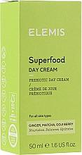 Parfémy, Parfumerie, kosmetika Hydratační denní pleťový krém - Elemis Superfood Day Cream