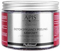 Parfémy, Parfumerie, kosmetika Tělový detox peeling Raspberry - Apis Professional Detoxifying Coffee Scrub Raspberry