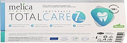 Parfémy, Parfumerie, kosmetika Zubni pasta Komplexní péče - Melica Organic Toothpaste Total Care 7