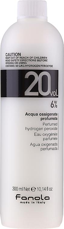 Oxidant - Fanola Acqua Ossigenata Perfumed Hydrogen Peroxide Hair Oxidant 20vol 6%