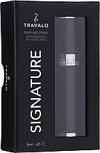 Parfémy, Parfumerie, kosmetika Atomizér na parfém - Travalo Signature Elegance Black
