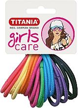 Parfémy, Parfumerie, kosmetika Gumičky do vlasů, 20 ks, různobarevné - Titania Girls Care