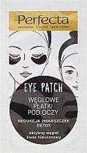 Parfémy, Parfumerie, kosmetika Náplasti pod oči s uhlím - Dax Cosmetics Perfecta Eye Patch