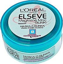 Parfémy, Parfumerie, kosmetika Maska pro normální a mastné vlasy - L'Oreal Paris Elseve Extraordinary Clay Mask