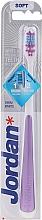Parfémy, Parfumerie, kosmetika Zubní kartáček, měkký, fialový - Jordan Shiny White Toothbrush Soft