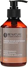 Parfémy, Parfumerie, kosmetika Koncentrovaná maska na vlasy - Beetre Be Nature Damage Repair Deep Masque