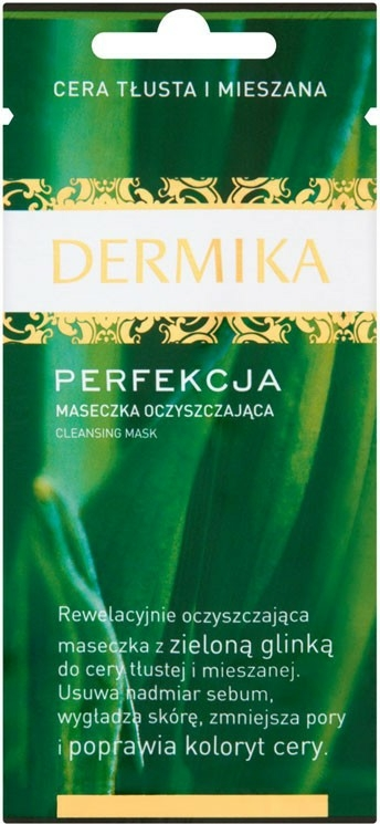 Čistící maska pro mastnou a kombinovanou pokožku - Dermika Perfection Cleansing Mask — foto N1