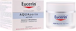 Parfémy, Parfumerie, kosmetika Krém na obličej - Eucerin AquaPorin Active Deep Long-lasting Hydration For Normal To Mixed Skin