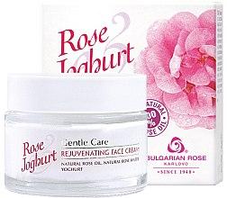 Parfémy, Parfumerie, kosmetika Omlazující krém na obličej - Bulgarian Rose Rose & Joghurt Rejuvenating Face Cream