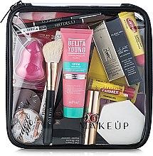 """Parfémy, Parfumerie, kosmetika Transparentní kosmetická taštička """"Visible Bag"""" 20x20x8cm (bez kosmetických prostředků) - MakeUp"""