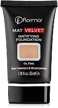 Parfémy, Parfumerie, kosmetika Make-up - Flormar Mat Velvet Matifying Foundation