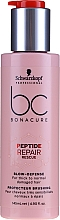 Parfémy, Parfumerie, kosmetika Ochranný krém na vlasy - Schwarzkopf Heat Protector BC Peptide RR Blow Defense