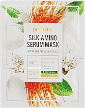 Parfémy, Parfumerie, kosmetika Pleťová maska s hedvábnými proteiny - Petitfee&Koelf Silk Amino Serum Mask