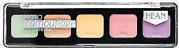 Parfémy, Parfumerie, kosmetika Paleta korektorů - Hean Photo Camouflage Cream Concealer Palette