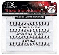 Parfémy, Parfumerie, kosmetika Umělé řasy v trsech - Ardell Triple Individual Short Black
