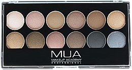 Paleta očních stínů - MUA Undressed Eyeshadow Palette — foto N1
