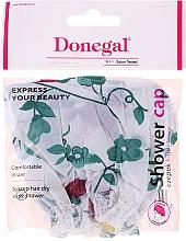 Parfémy, Parfumerie, kosmetika Čepice do sprchy, 9298, zelené květiny - Donegal Shower Cap