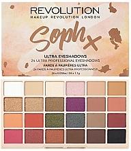 Parfémy, Parfumerie, kosmetika Paleta očních stínů - Makeup Revolution Soph X Eyeshadow Palette