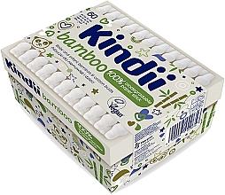 Parfémy, Parfumerie, kosmetika Vatové tyčinky pro kojence a děti - Kindii Bamboo Cotton Buds