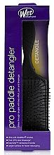 Parfémy, Parfumerie, kosmetika Kartáč na vlasy, černý - Wet Brush Pro Paddle Detangler Black