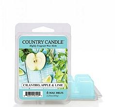 Parfémy, Parfumerie, kosmetika Vosk pro aromalampu - Country Candle Cilantro, Apple & Lime Wax Melts