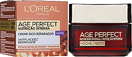 Noční krém na obličej - L'Oreal Paris Age Perfect Intense Nutrition Rich Cream 60+ Night Cream — foto N2