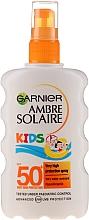 Opalovací sprej pro děti - Garnier Ambre Solaire Kids Very High Spray SPF50 — foto N1