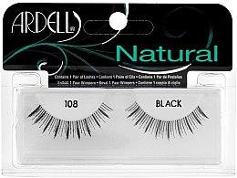 Parfémy, Parfumerie, kosmetika Umělé řasy - Ardell Natural Demi Black 108