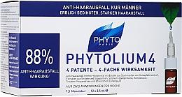 Parfémy, Parfumerie, kosmetika Ampule proti vypadávání vlasů - Phyto Phytolium 4