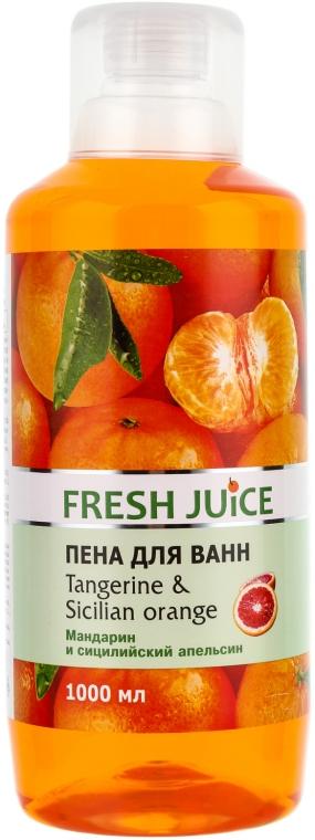 Koupelová pěna Mandarinka a sicilský pomeranč - Fresh Juice Tangerine and Sicilian
