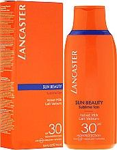 Parfémy, Parfumerie, kosmetika Jemné tělové mléko - Lancaster Sun Beauty Velvet Milk Sublime Tan SPF 30
