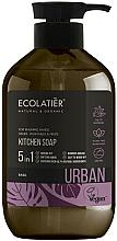 Parfémy, Parfumerie, kosmetika Tektuté mýdlo na ruce Bazalka - Ecolatier Urban Liquid Soap