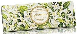 Parfémy, Parfumerie, kosmetika Sada prírodního mýdla Jasmín - Saponificio Artigianale Jasmine Scented Soap (soap/3pcsx100g)