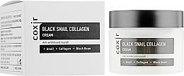Parfémy, Parfumerie, kosmetika Anti-age vyživující pleťový krém - Coxir Black Snail Collagen Cream Anti-Wrinkle And Nourish