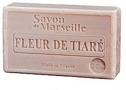 "Parfémy, Parfumerie, kosmetika Přírodní mýdlo ""Květy Tiara"" - Le Chatelard 1802 Flowers Tiara Soap"