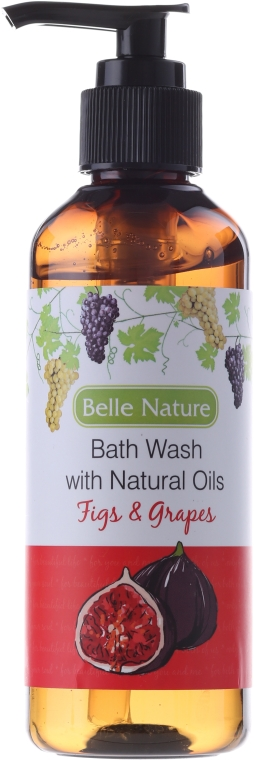 Gel na sprchu s vůní fíku s hrozny - Belle Nature Bath Wash Figs&Grapes