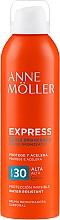 Parfémy, Parfumerie, kosmetika Sprej pro urychlení opalování - Anne Moller Express Bruma Body Tanning Spray SPF30