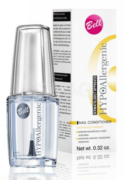 Prostředek na výživu nehtů, hypoalergenní - Bell Hypoallergenic Nail Conditioner — foto N1