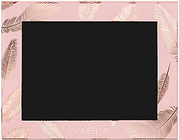 Kosmetické pouzdro, růžové - Nabla Liberty Six Customizable Palette — foto N1