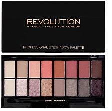 Parfémy, Parfumerie, kosmetika Paleta očních stínů, 16 odstínů - Makeup Revolution Profesional Eyeshadow Palette