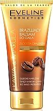 Parfémy, Parfumerie, kosmetika Balzám-bronzer na tělo Káva a olej Marula - Eveline Cosmetics Bronzing Body Balm