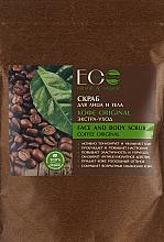 Peeling na obličej a tělo Káva Original - ECO Laboratorie Face and Body Scrub Coffee Original — foto N3