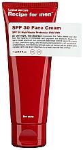 Parfémy, Parfumerie, kosmetika Hydratační pleťový krém s ochranou proti slunci - Recipe For Men Facial Moisturizer SPF 30