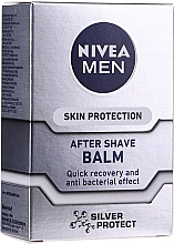 Parfémy, Parfumerie, kosmetika Balzám po holení Silver Protect - Nivea For Men Silver Protect After Shave Balm