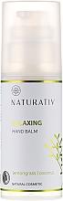 Parfémy, Parfumerie, kosmetika Hydratační krém na ruce - Naturativ Relaxing Hand Balm Lemongrass