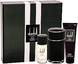 Parfémy, Parfumerie, kosmetika Alfred Dunhill Icon Racing - Sada (EDP/100ml+EDP/30ml+sh/gel/90ml)