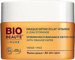 Parfémy, Parfumerie, kosmetika Detoxikační pleťová maska s pomerančovou vodou - Nuxe Bio Beaute Vitamin Rich Detox Mask