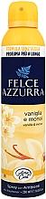 Parfémy, Parfumerie, kosmetika Osvěžovač vzduchu - Felce Azzurra Vaniglia e Monoi Spray